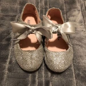Other - Silver Ballet flats